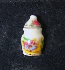 Hansson Miniature 1:12 - SUGAR BOWL and lid w/ romantic scene