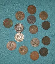 Monete 2 cent.miste Regno Vittorio Emanuele III (varie date-15 pz) MB-QBB-Rame
