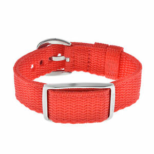 Bioflow Magnetic Therapy Explorer Red Canvas Wristband - From Bioflow Direct