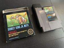 Donkey Kong Jr. Math - NES Spiel - OVP CB - PAL B - Bienengräber Nintendo