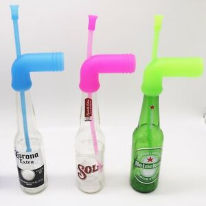Beer snorkel foldable beer funnel drinking game party chug portable