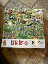 Jan van Haasteren FARM VISIT Crowd Pleasers Jigsaw Puzzle 1000 PIECE -used