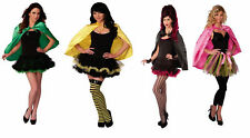 "Adult 25"" Short Cape Costume Unisex Halloween Magician Phantom Collar Super Hero"