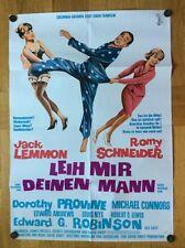 Leih mir deinen Mann (Kinoplakat '64) - Jack Lemmon / Romy Schneider
