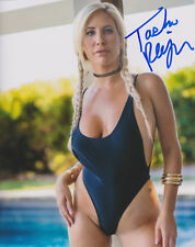 TASHA REIGN Adult Video Star SIGNED 8X10 Photo