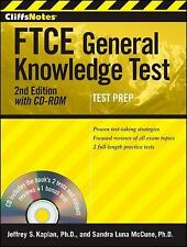 CliffsNotes FTCE General Knowledge Test with CD-ROM, 2nd Edition by