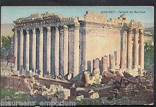 Lebanon Postcard - Baalbek - Temple De Bacchus  S853