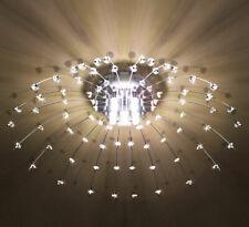 LED Deckenlampe Kristall Deckenleuchte Kronleuchter Wohnzimmer Leuchte 60cm XL