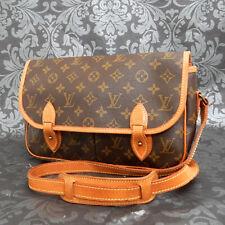 Rise-on LOUIS VUITTON Monogram Canvas Gibeciere MM Crossbody Shoulder Bag #1