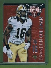 2014 Totally Certified Red Rookie Brandon Coleman #135 New Orleans Saints 64/100