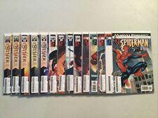 Marvel knights Spiderman #s 1,2,3,5,12,13,16,17,18,20,21,22,22 variant x2 HOP11