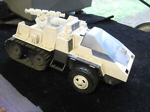 "Vintage 1985 GI Joe Snowcat Action Figure Vehicle Incomplete 9-1/2"" Long"