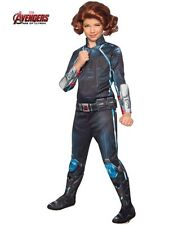 Girls Deluxe Black Widow Avengers 2 Costume Age of Ultron Size Small 4-6