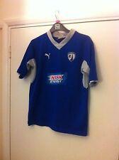 2012-13 rare CHESTERFIELD home football shirt jersey top PUMA KIDS BOYS sz 32/34