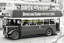 rp12993 - City of Exeter Bus to Exmouth  - photo 6x4