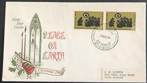 Australia * FDC 1966 Peace On Earth Christmas