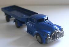 VINTAGE TEKNO DENMARK TINPLATE DODGE TRAILER 776 TRUCK C.1950's BLUE RARE