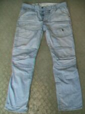 MENS G STAR 'TRAIL 5620 TAPERED' JEANS SIZE 36