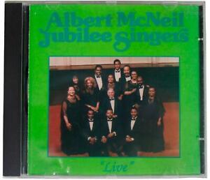 ALBERT MCNEIL JUBILEE SINGERS Live SIGNED CD 2000 Los Angeles CA Black Gospel