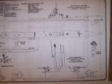 sea poacher  submarine  SHIP PLAN