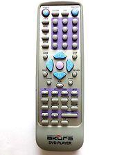AKURA DVD PLAYER REMOTE CONTROL for ADV15S