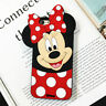 Hot3D Animals Mouse Cartoon Soft Silicone Case Cover Back Skin For Various Phone