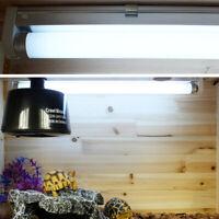 Reptile Vivarium Fluorescent Tube Light Lamp T8 UVB 5.0/10.0 Bulb w/ T8 Holder