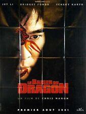 Affiche 120x160cm LE BAISER MORTEL DU DRAGON (KISS OF THE DRAGON) 2001 Jet Li EC