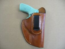 "S&W 63, 631, 651 4"" IWB Leather In The Waistband Concealed Carry Holster TAN RH"