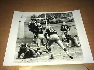 "Pittsburgh Steelers vs. Washington Redskins 1955 INP 7"" x 9"" Sound Photo"