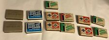 VINTAGE LOT 13 OHIO BLUE Tip, Diamond MATCHES STRIKE ANYWHERE EMPTY MATCH BOXES