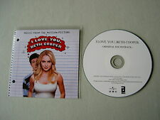 I LOVE YOU, BETH COOPER film soundtrack promo CD album Airborne The Kooks Kiss
