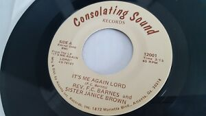 Rev F.C.Barnes & Soeur Janice Marron - It's Me Again Lord Privé Gospel Soul