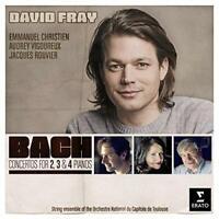 David Fray - Bach: Concertos for 2, 3 and 4 Pianos [CD]
