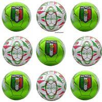 Lot of Mexico Soccer Ball Official Size No. 5 FIFA Football Bulk