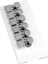 Genuine Fender American Standard Guitar Tuner Set 6 Chrome Strat Tele 0990820100