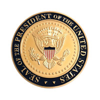 Donald Trump Guardians White House Challenge Coin POTUS Gold No Pacific CPO NYPD