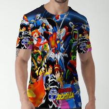 Gundam Mobile Fighter G Gundam Anime Tee Fullprint Tshirt Men's T-Shirt