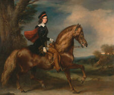 James Keith Fraser Francis Grant Pferd Reiter Adel Junge Bub Umhang B A3 01831