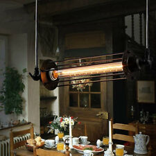Industrial Retro Vintage Flute Pendant Lamp Kitchen Bar Hanging Ceiling Light