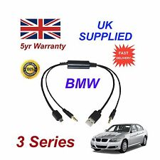 BMW Serie 3 Cable de audio para Samsung Galaxy, HTC, BlackBerry, LG, Nokia, Sony