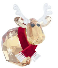 Swarovski Reindeer Mo, Lt. Ed. Crystal Figurine Santa Cow Bull Authentic 5059025