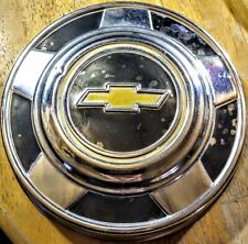 "73-87 Chevy Truck 10.5"" Dog Dish Poverty Hub Cap Aluminum For 15"" Wheels"
