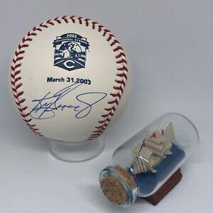 Ken Griffey Jr signed Rawlings Great American Reds Logo Baseball Tristar HOF K2