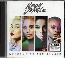 Neon Jungle - Welcome To The Jungle (2014 CD) New