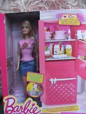 Barbie mit Kühlschrank CCX04 von Mattel, neu + OVP