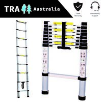 Portable Telescopic Ladder 2.6m Carry Bag Caravan RV Parts Accessories Camping