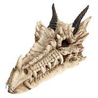 Draco Skull Dragon Incense Burner Ashcatcher Joss Stick Holder Gothic 9 inch
