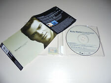Single CD Ricky Martin feat. Meja - Private Emotion  3.Tracks 2000  178