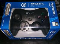 PS3 Wireless Controller PowerA Playstation 3 Black NEW (FREE SHIPPING!)